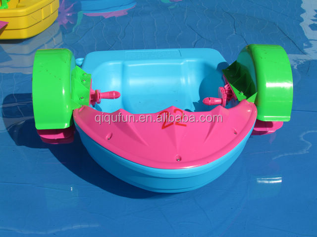 children water used pontoon hand paddle boat for for inflatable swimming pool
