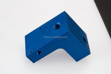 CNC milling raw aluminum drilled block,aluminum block price