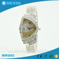 New japan movement stainless steel diamond watch,luxury type watch