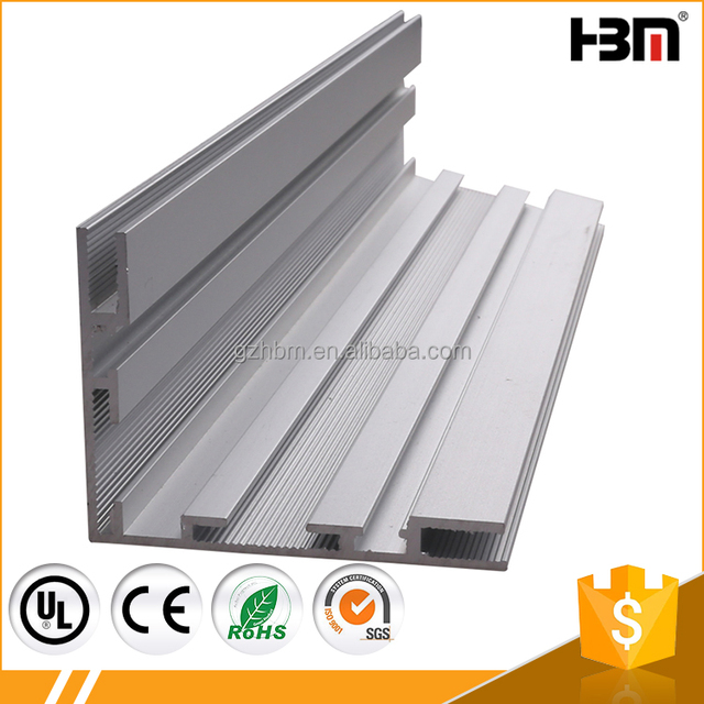 indoor single face textile aluminium sign frame fabric lightbox extrusion profile