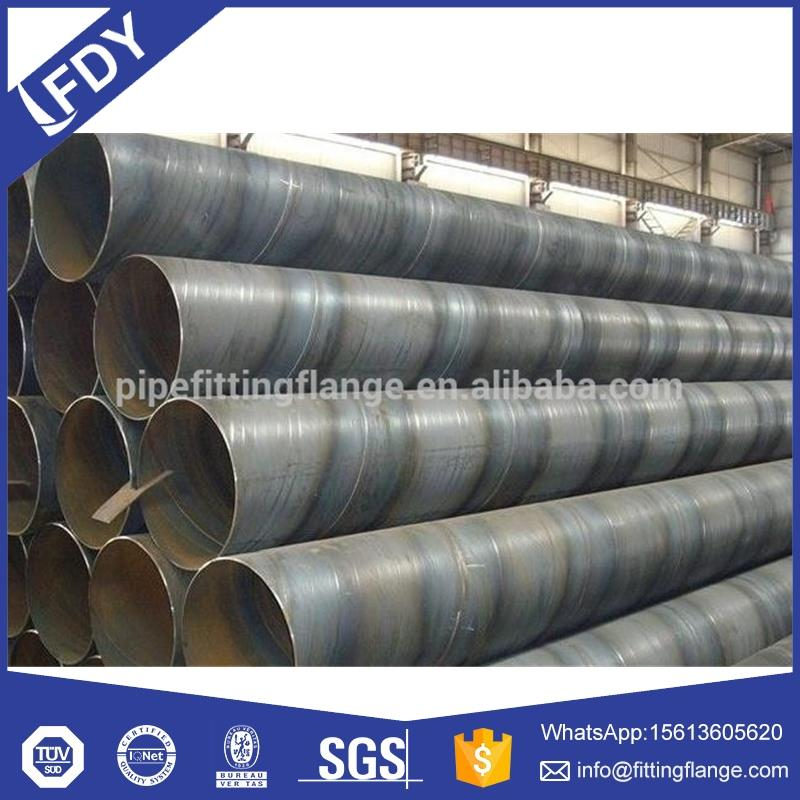 Low price ASTM A252 spiral steel tube / corrugated tube