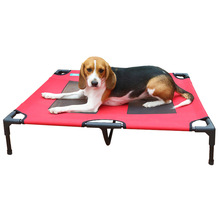Amazon Hot Selling Innovative Pet Products Wrought Iron Pet Bed Elevated Pet Bed