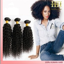 Top sale natural color virgin peruvian jerry curl human hair weave extensions
