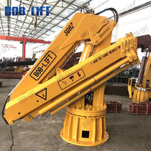Price of 10 Ton Knuckle Boom Marine Cranes For Sale