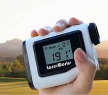 Best selling golf pinseeker distance corrected 600m golf gps rangefinder with slope