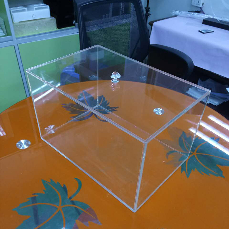 Custom clear plexiglass food display case for <strong>retail</strong> stores