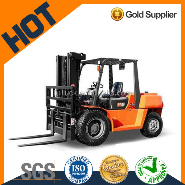 Hot selling seenwon 5-7ton diesel clamp forklift truck