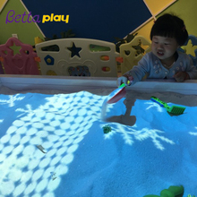 indoor playground Interactive floor wall sand table beach projection system for kids games