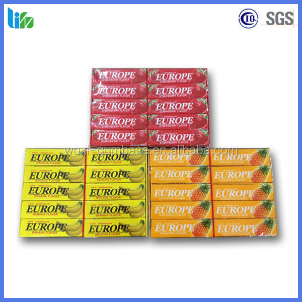 Hot selling brands of chewing gum 5 sticks chewing gum