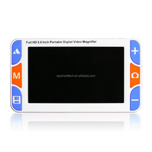 RS500S Portable Low Vision Digital Magnifier Handheld Electronic Reading Magnifier for Elderly