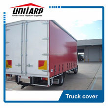 1000d 650gsm truck cover pvc curtain side container