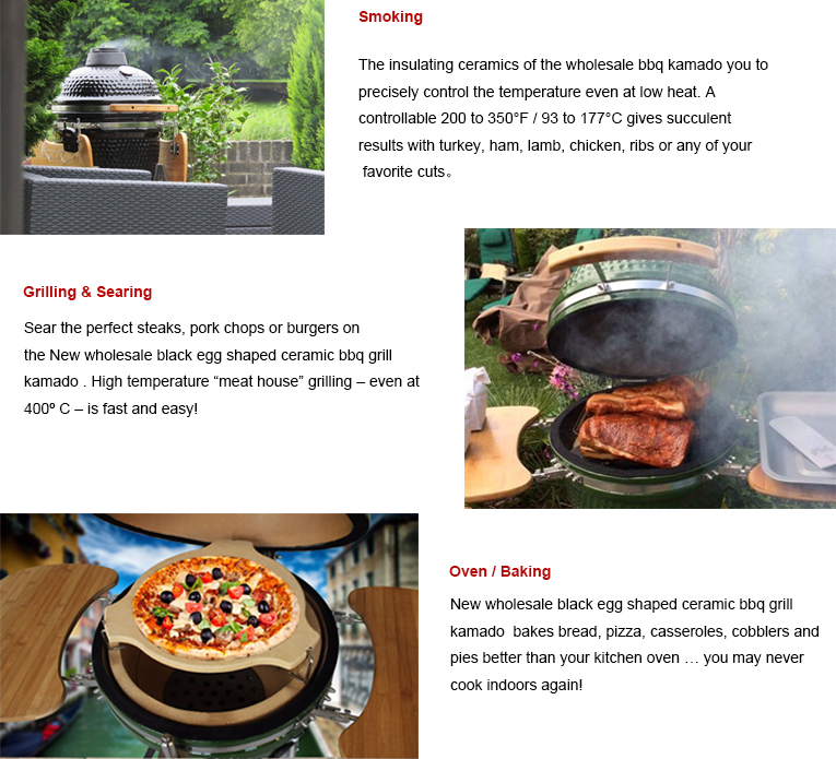 2019 indoor outdoor smokeless 15inch kamado firebox bbq grill