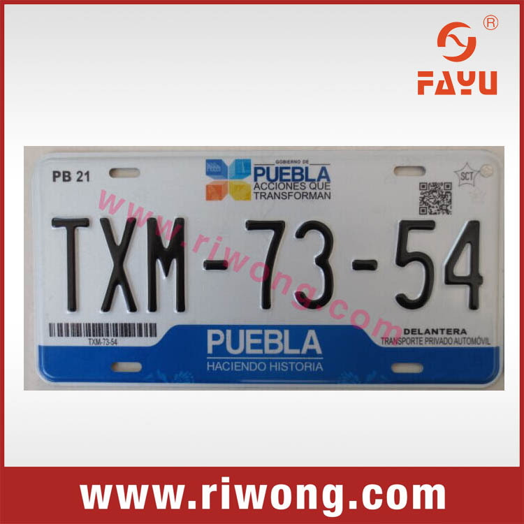 reflective aluminum blank number plate, india blank number plates