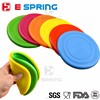 Green Environmental 18*18 cm Flexibility Foldable Frisbee For Dog