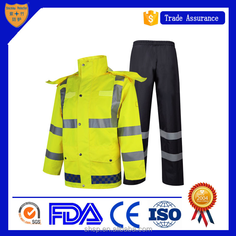 custom waterproof Raincoat suit sale