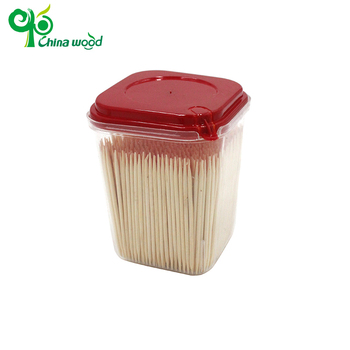 Best selling disposable bamboo toothpick production