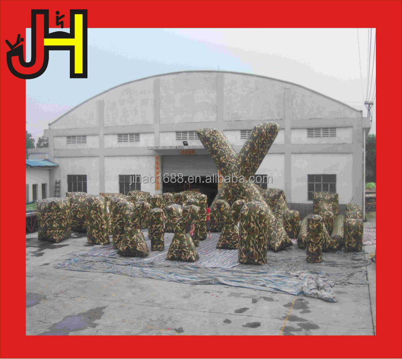 Guangzhou Factory Hot Sale Outdoor Inflatable Paintball Field
