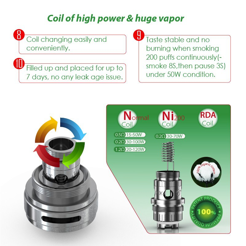 2015 top selling vaping smoke tanks from Modvapa patent design 5 ml capacity sub ohm vapor tanks
