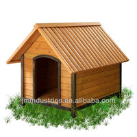 Cheap Large Wooden Dog Houses with FSC Certificate