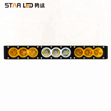 wholesales car accessoryr 30,60,90,120,150,180,240w white amber combo crees 1 row single row led light bar from shenzhen factory