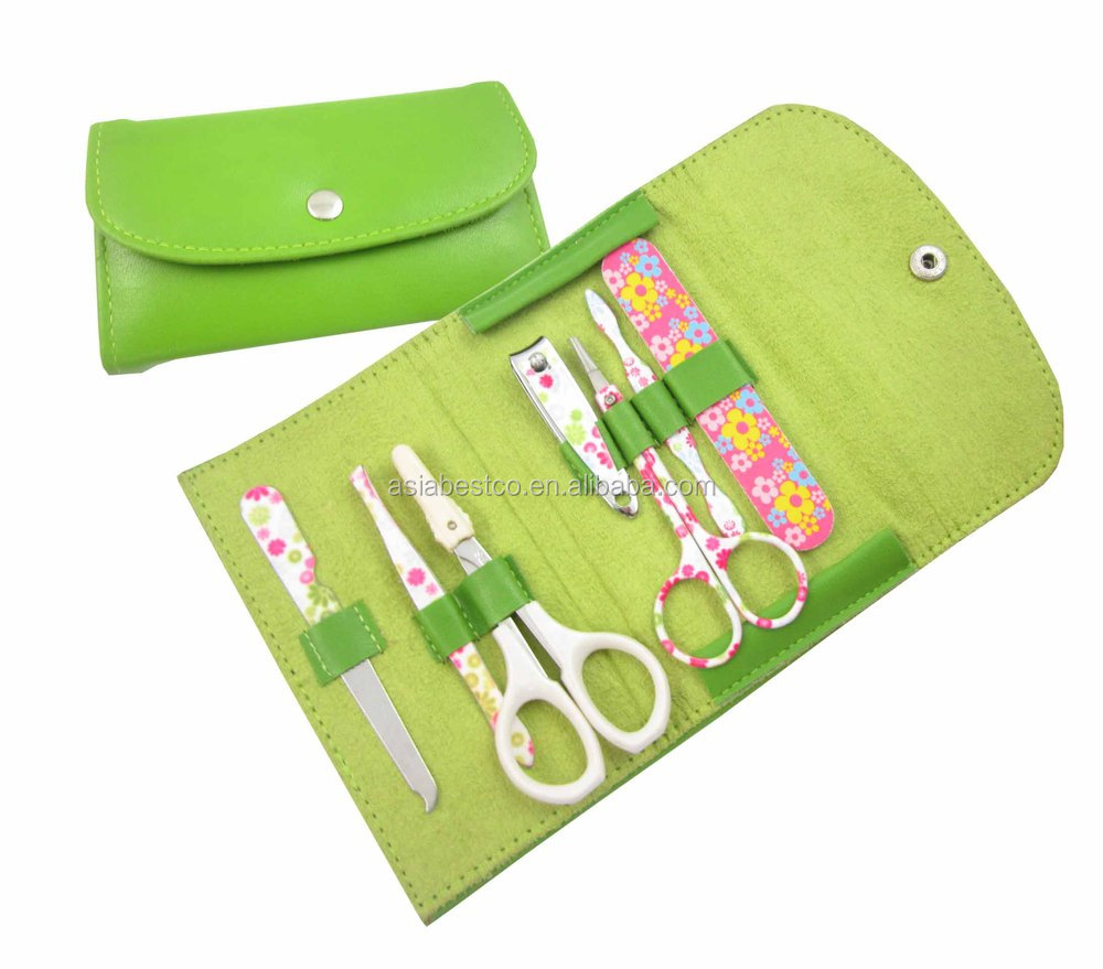 2018 New Styles Manicure Pedicure Set Crocodile Pattern Manicure Set