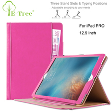 Magnetic Tablet Flip Cover For Apple iPad Pro 12.9 Inch Leather Case