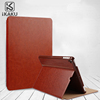 OEM logo Fancy unbreakable promotional private label bumper tablet pc cover pu leather case for ipad air 1 case origami