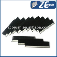 abrasive nylon metal weather strip brush