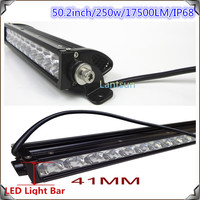 Manufacture cree chip 250w 5w/pc cree led light bar 50