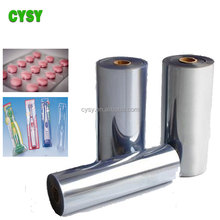 Transparent hard pvc sheet roll for medical package vacuum fomring