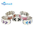 Lovely Fashionable Heart Shape Rhinestone Bangle