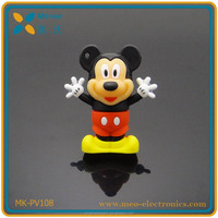 china novelties cartoon animal shape Mickey Mouse usb flash drive