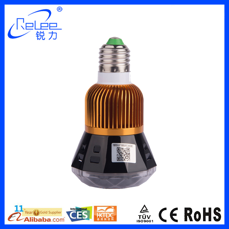 Wholesale Products Wi-Fi direct monitoring Spy hidden led camera light bulb