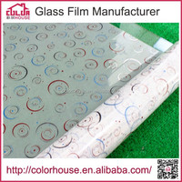 packing pvc self adhesive film glass wrap