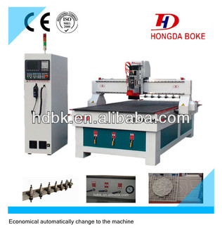 Linear ATC CNC Router machine/ATC Engraving machine with 9.0kw air cooling spindle HDM25-H