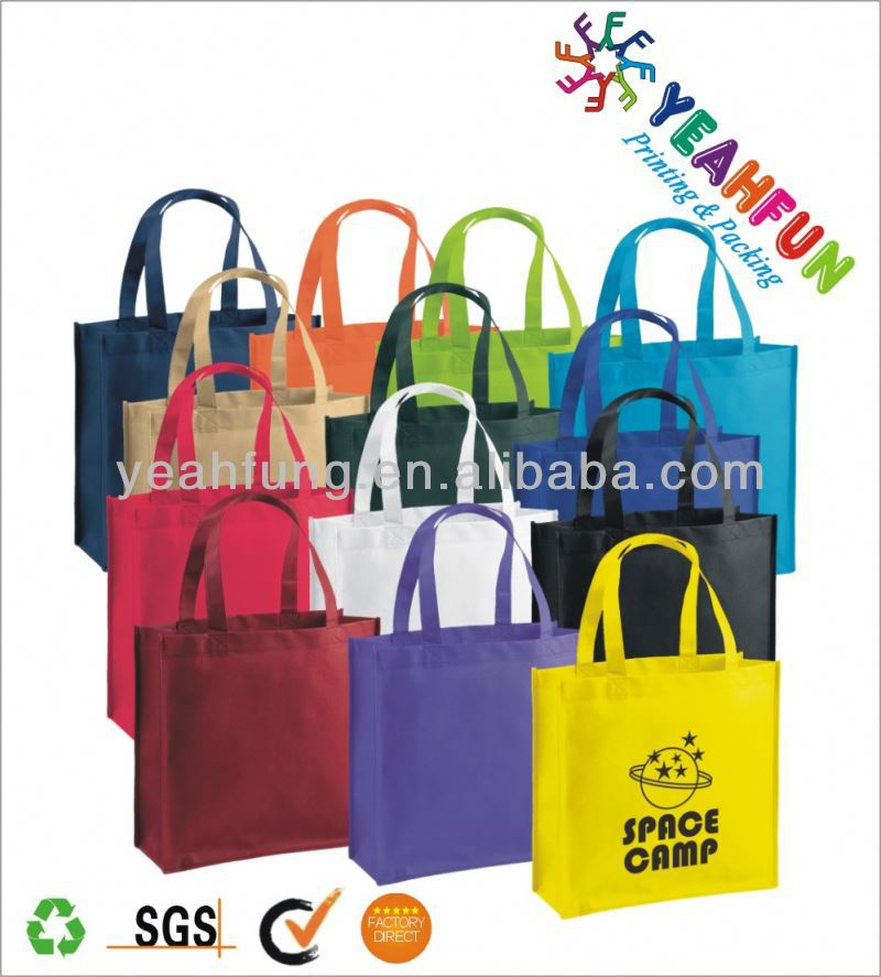 AZO free colorfull shopping bag