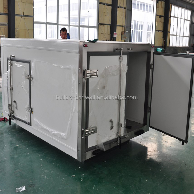Small Refrigerated/Freezer Truck Box Body for Sale