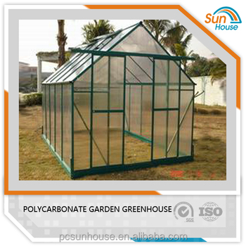UV protcetion 10 years of quality assurance polycarbonate Greenhouse