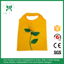 Customized Flower Shape Folding Shopping Bag