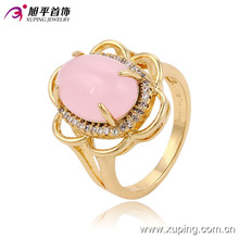 13677- newest wedding gift xuping fashion gold ring with 18k gold plated