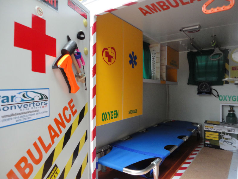 The Cheapest AMBULANCE (TRYKE)