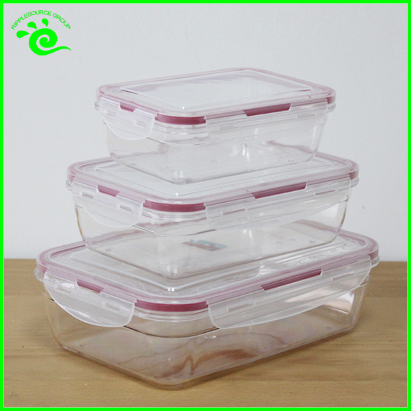 Transparent Plastic Container Frozen Food Packaging - Buy ...