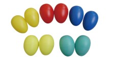 Children Percussion Instrument Plastic Egg Shakers AW-M01-7