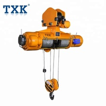 TXK Portable Electric Wire Rope Hoist/Cable Winch Lifting