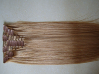 6A Rebecca High Quality Cheap 100% Virgin Human Remy Hair Clip In Extension