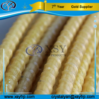China Alibaba Gold Supplier Epoxy Coated FRP Fiberglass Reinforced Plastic Composite Rebar