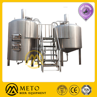 Stainless steel home brewery equipment/mash turn/Jacket brew kettle