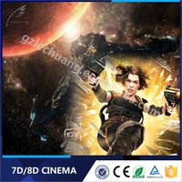 Canton Fair 5D/7D/8D/9D/Xd Cinema Amusement Park Equipment 7D Cinema Theatre