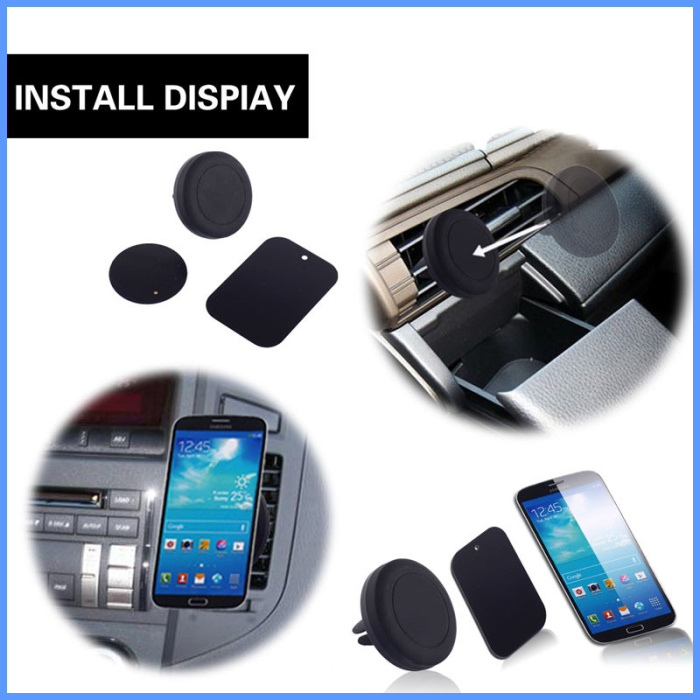 hot selling china factory price protable universal strong magnetic car phone holder for mobile phone car mount holder magnetic