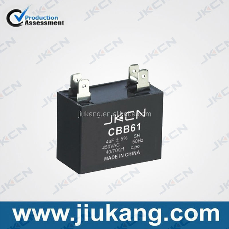 High Quality cbb61 facon capacitor for sale
